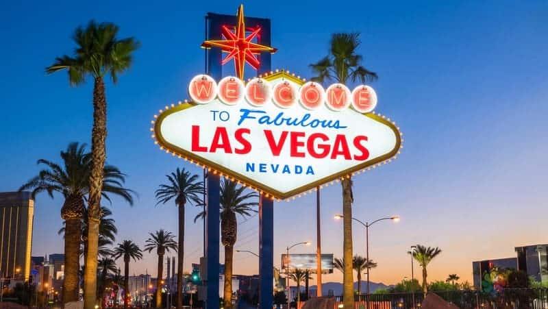Las Vegas'a hoşgeldiniz tabelası Las Vegas gezilecek yerler