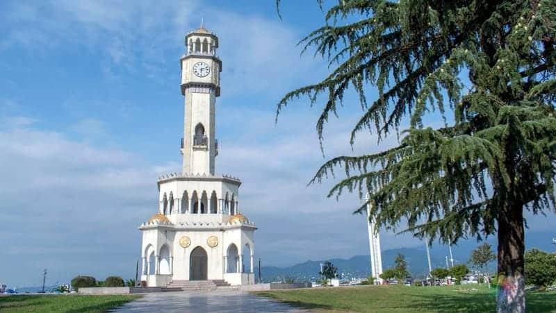 batum gezisi saat kulesi Chacha Tower