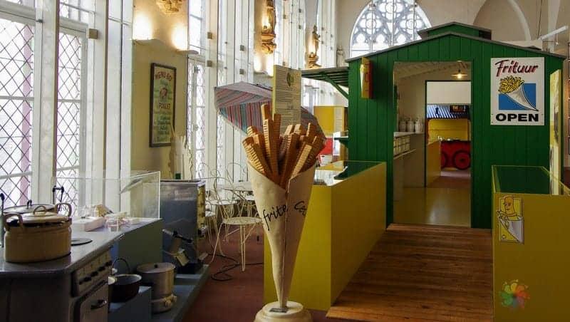 Frietmuseum brugge gezilecek yerler