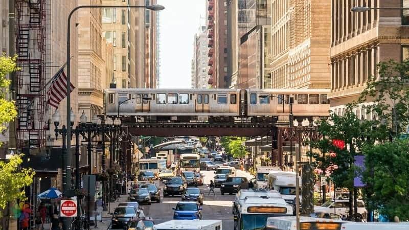 Chicago'da nerede kalınır şehir içi ulaşım araçları