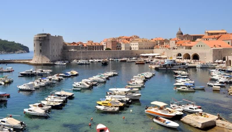 Dubrovnik old town, liman
