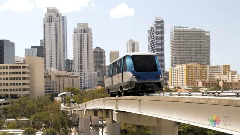 Miami'de nerede kalmalı havaalanı şehir merkezi arası ulaşım