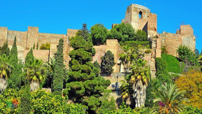 Malaga gezilecek yerler Alcazaba de Malaga