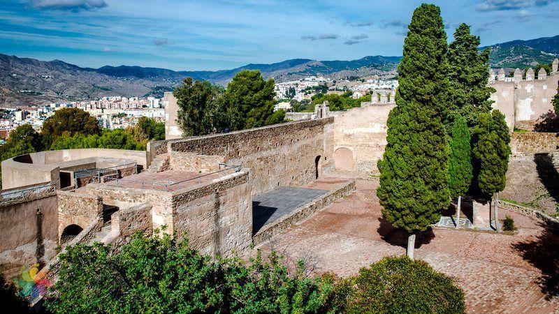 Malaga'da gezilecek yerler Castillo de Gibralfaro