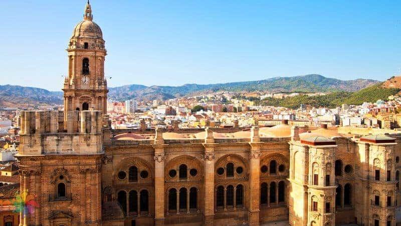 Malaga gezilecek yerler Malaga Cathedral