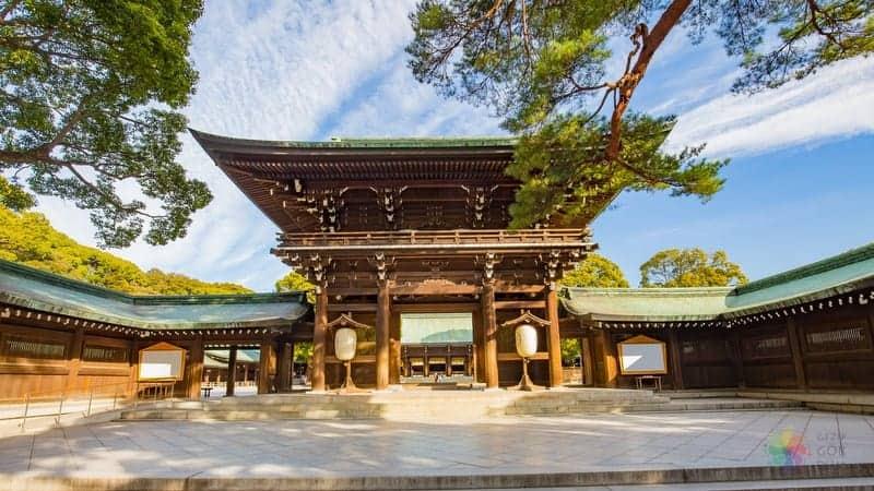 tokyo turu Meiji tapınağı