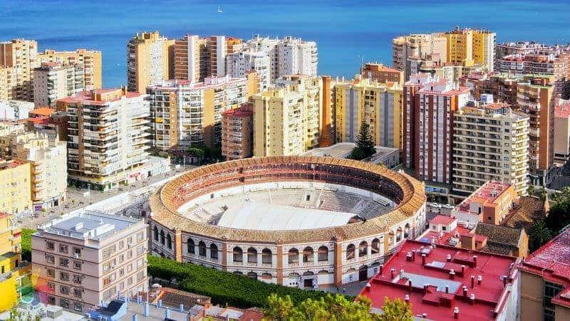 Malaga gezilecek yerler Plaza de Toros