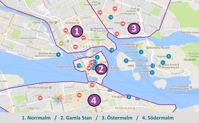 Stockholm otel tavsiye