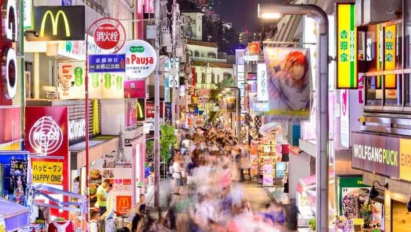 Takeshita Caddesi tokyo turu