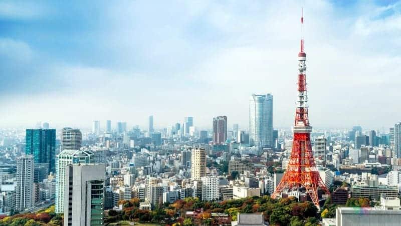 Tokyo Tower tokyo turu
