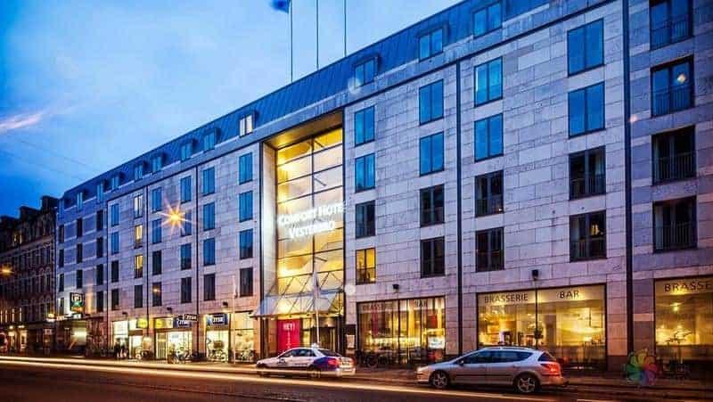 Comfort Hotel Vesterbro Kopenhag otel tavsiyesi