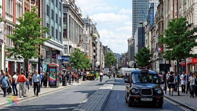 Londra'da alışveriş hakkında bilgi ve fotorğaflar