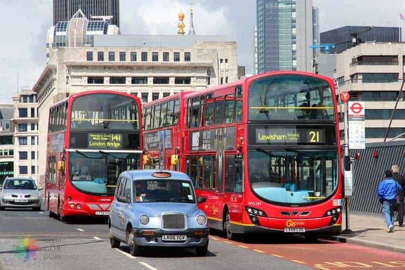 Londra'da ulaşım, havaalanı, şehir içi, tren, Londra gezi notları