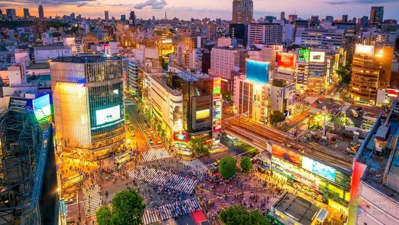 Shibuya tokyo gezi rehberi