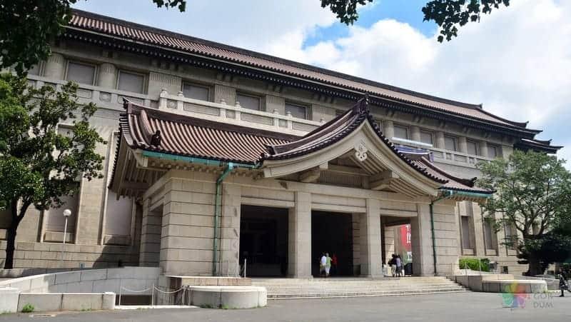 ulusal müze tokyo japonya
