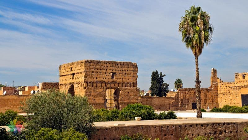 marakeş gezilecek yerler El Badi Sarayı