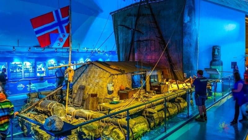 Oslo gezi rehberi Kon Tiki Museum