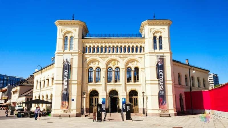 Oslo gezilecek yerler Nobels Fredssenter