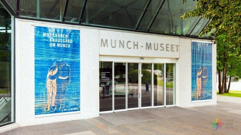 Munch Museum Oslo gezilecek yerler