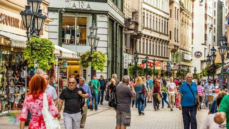 Budapeşte'de alışveriş, hediyelik eşya seçenekleri