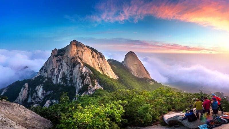 Bukhansan National Park seul'de gezilecek yerler