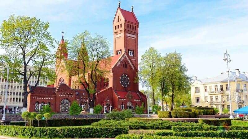 Church of Saints Simon and Helena minsk gezilecek yerler