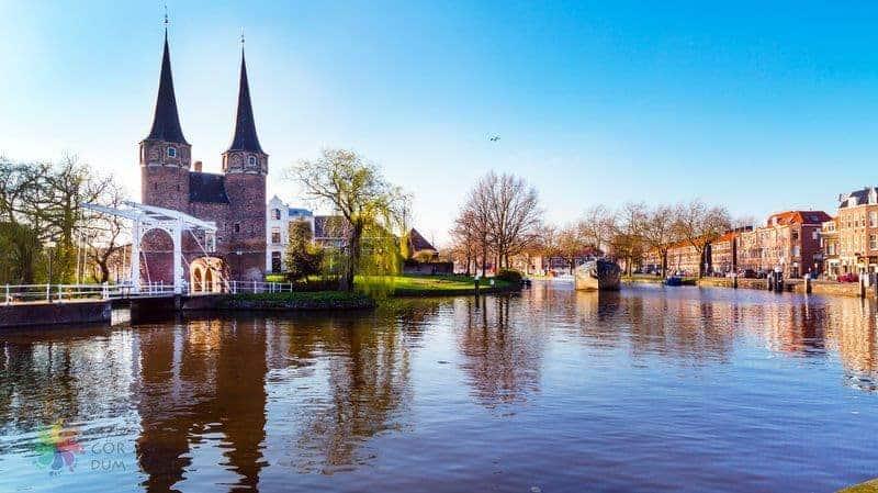 hollanda görülecek yerler Delft
