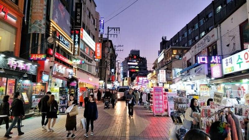 Dongdaemun Market seul gezilecek yerler