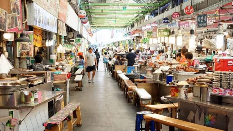 Gwangjang Market seul gezisi