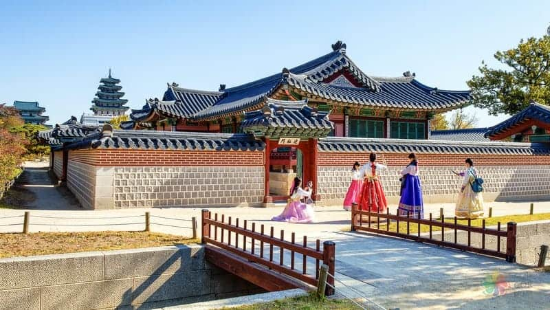 seul gezisi Gyeongbokgung Palace