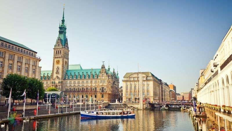almanya Hamburg