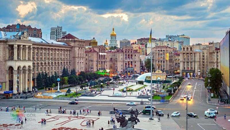 ukrayna gezilecek yerler Kiev