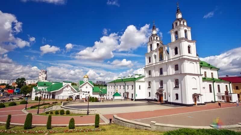 Holy Spirit Cathedral vizesiz minsk seyahati