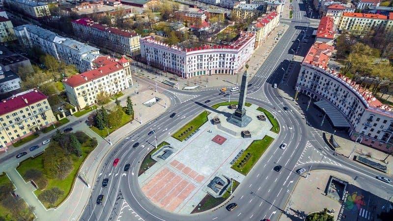Victory Square minsk gezilecek yerler