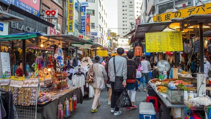 seul gezisi Namdaemun Market