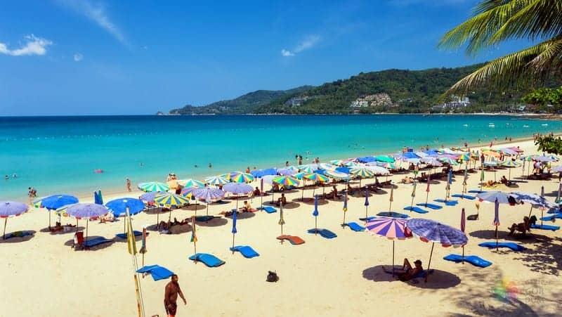 Phuket'te nerede kalınır Patong Beach