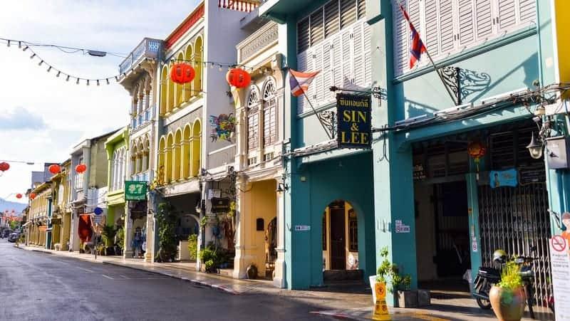Phuket Town tayland phuket adası gezisi