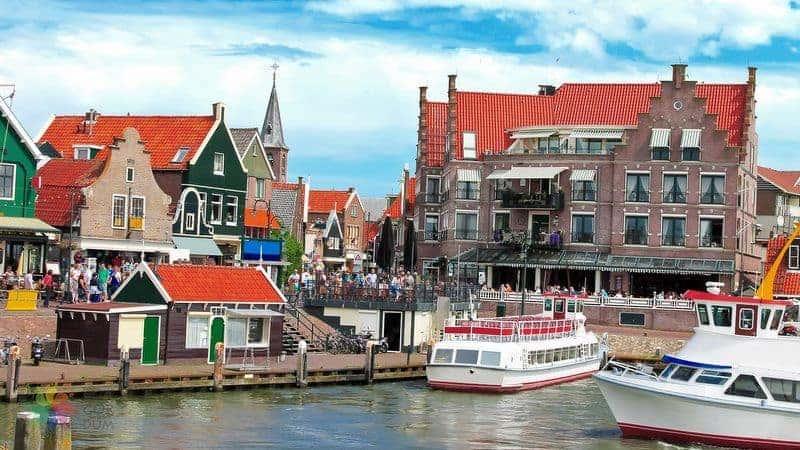 Volendam hollanda