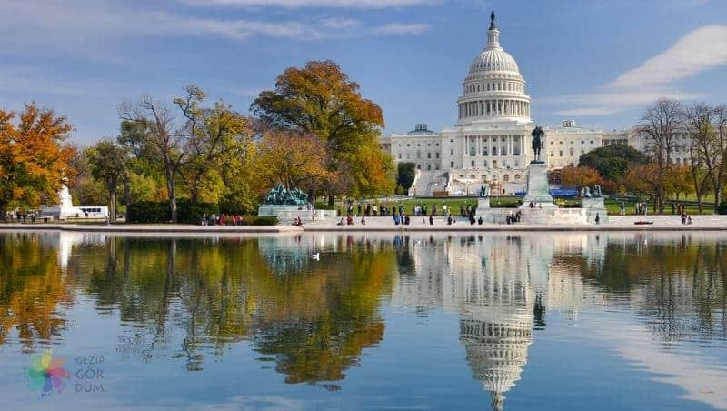 Amerika gezilecek yerler Washington DC