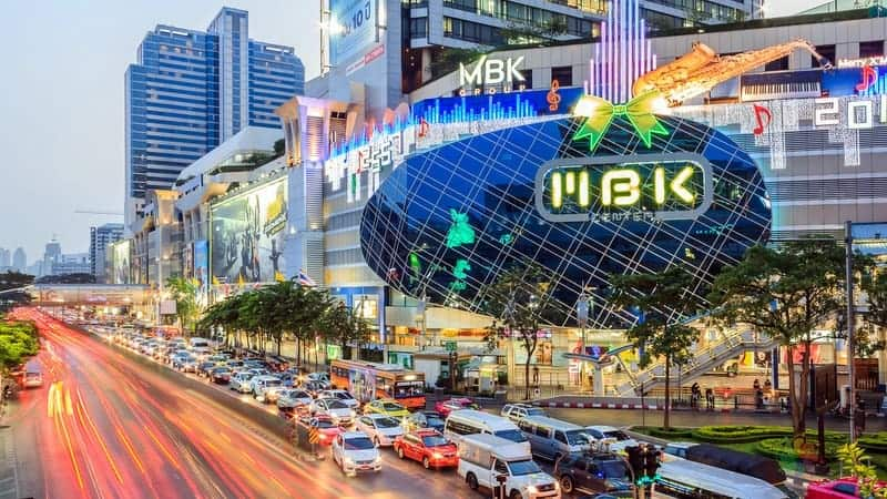 siam square Bangkok'ta nerede kalmalı