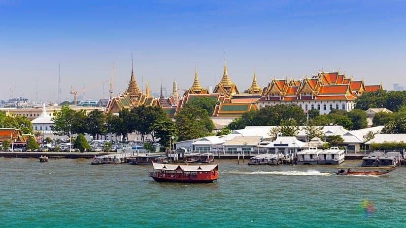 Bangkok'ta nerede kalınır cao phraya river