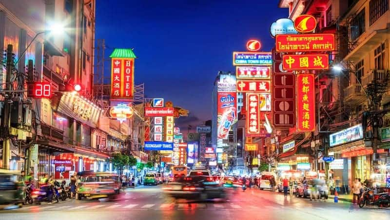 Bangkok konaklama chinatown