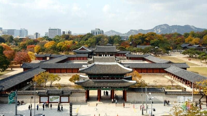 Changgyeonggung Palace seul gezilecek yerler