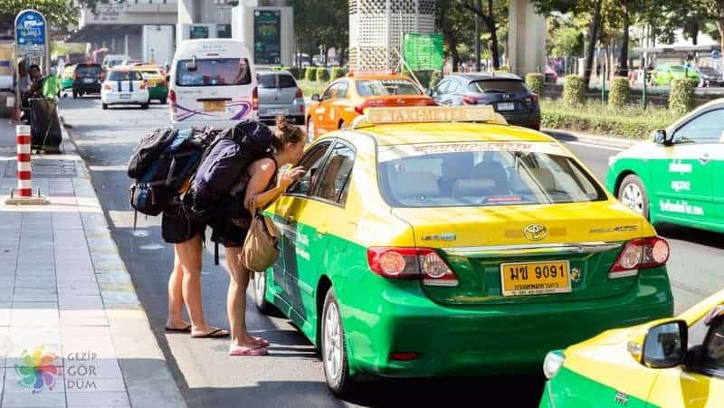 bangkok taksi dolandırıcıları