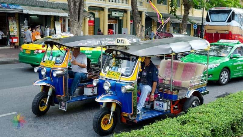 bangkok tuk tuk dolandırıcıları