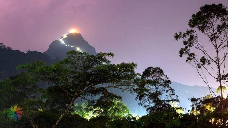 sri lanka'da gezilecek yerler Adam's Peak Dalhouisie