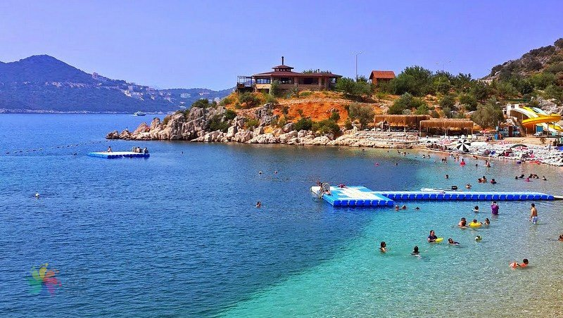 Places to visit in Kaş Akçagerme Beach