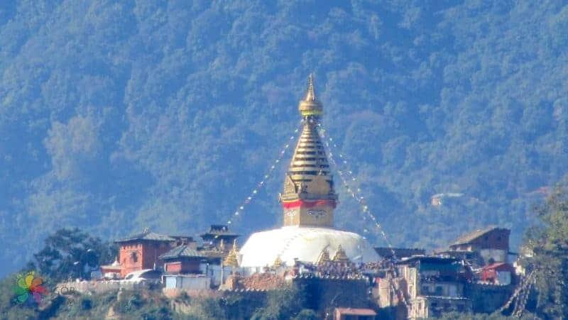 nepal'de gezilecek yerler Swayambhunath temple