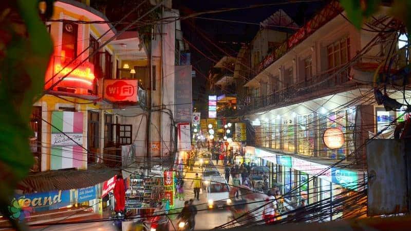 Thamel Market nepal