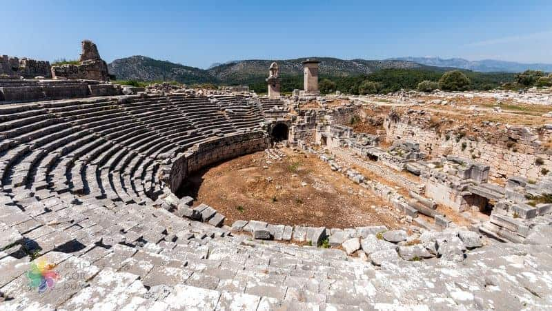 Kas Attractions Xanthos